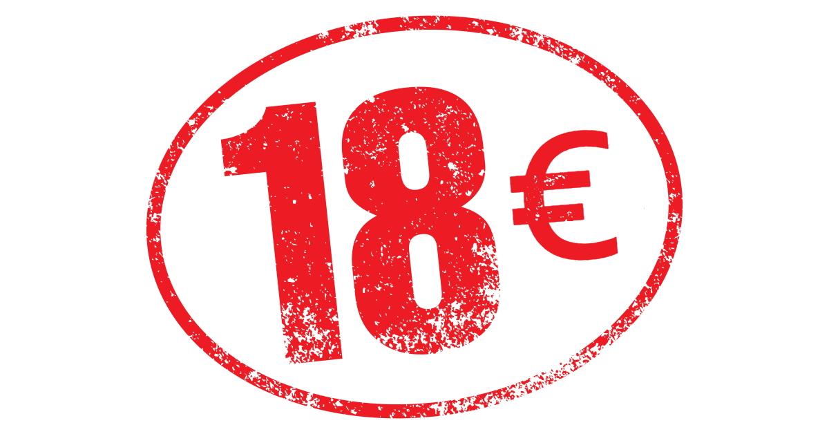 18 euros