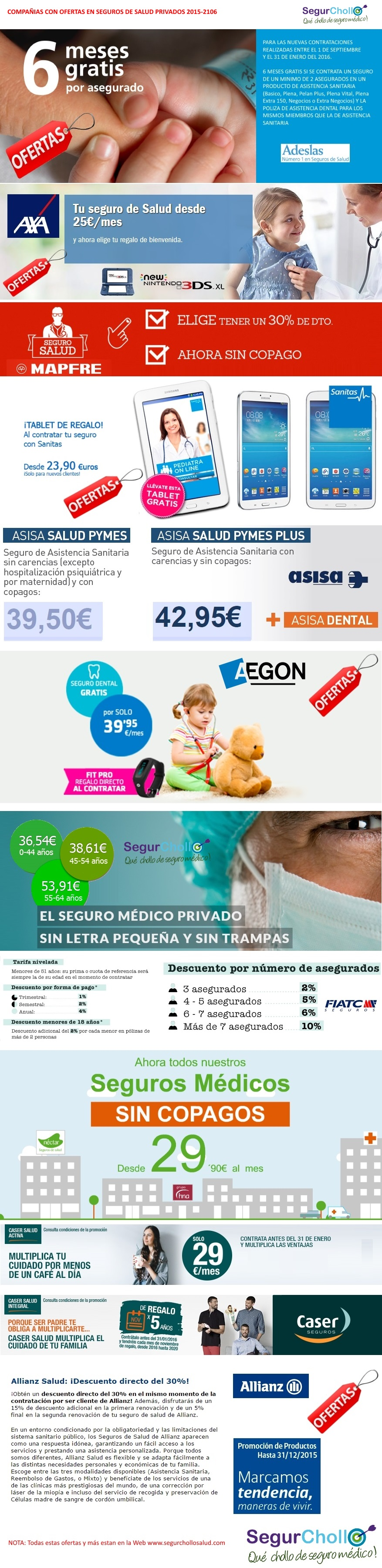 Juntas todas las ofertas de seguros m dicos para el 2015 - Seguro medico caser ...