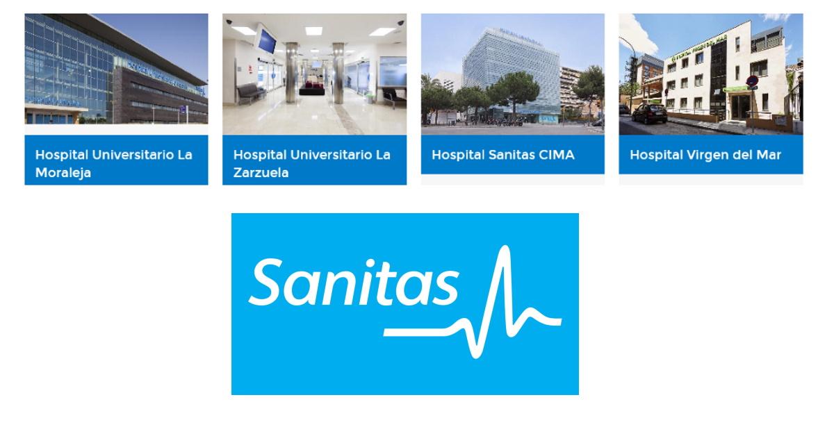 principales hospitales de sanitas