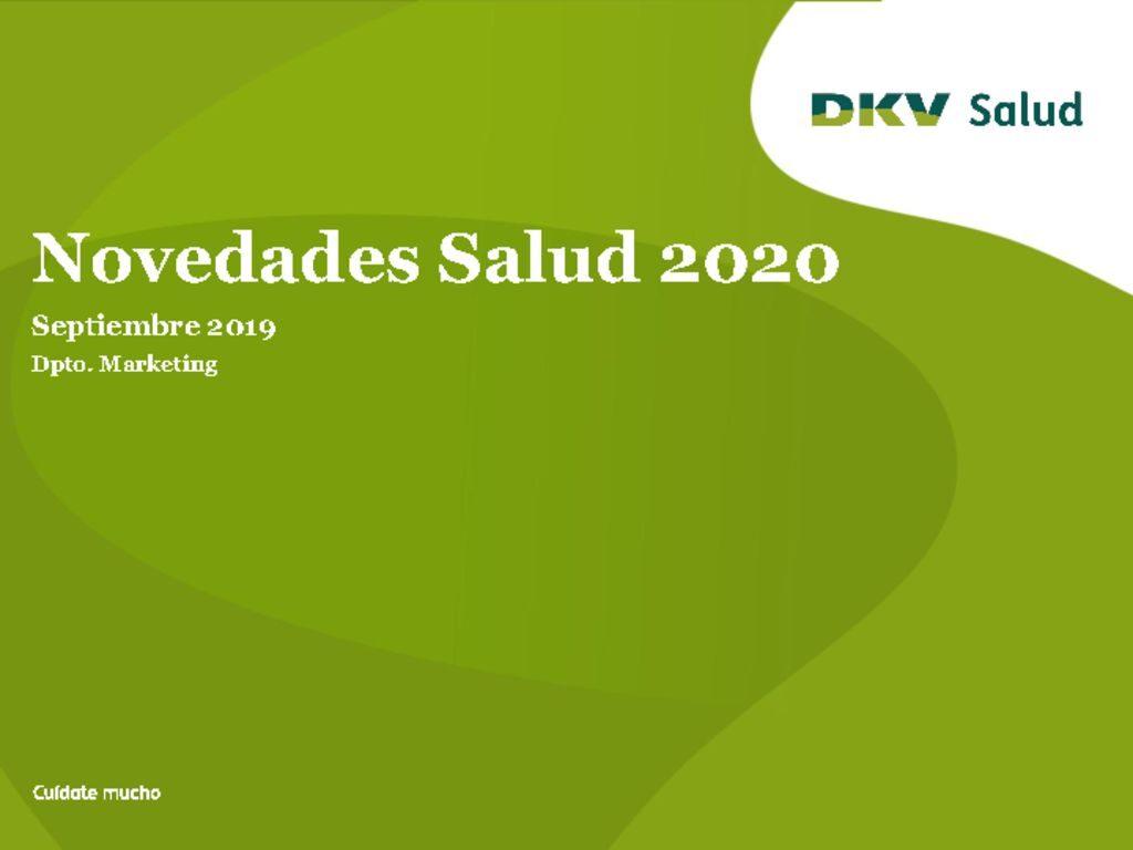 thumbnail of Novedades Salud 2020