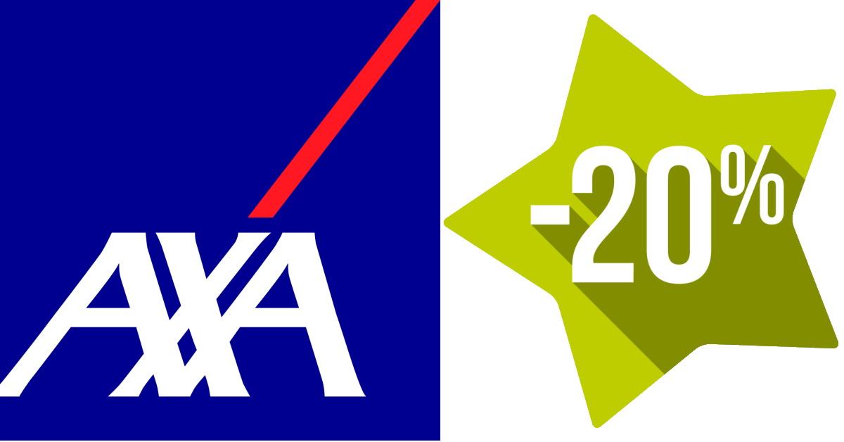 AXA 20 de descuento