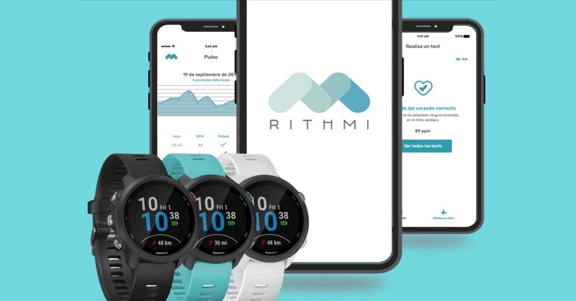 Monitoriza tu ritmo cardiaco con Rithmi