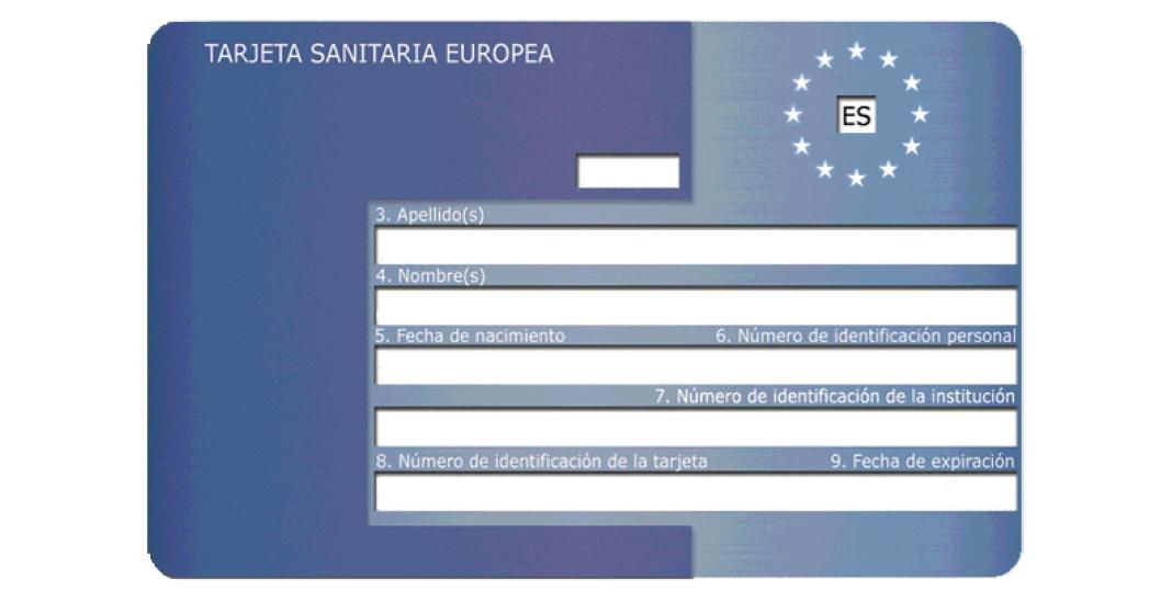 tarjeta sanitaria europea para recibir asistencia en el extranjero