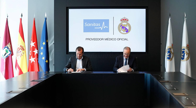 Sanitas y el real Madrid (3)